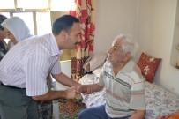 YAŞLILAR HAFTASI - Kaymakam Taşdan, 93 Yaşındaki Kore Gazisini Ziyaret Etti