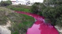 ERGENE NEHRİ - Kimyasal Atık Nedeniyle Dere 'Kırmızı Ve Pembe' Akıyor