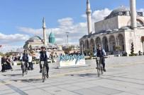 ZABITA EKİBİ - Konya'da Bisikletli Zabıtalar Görevde