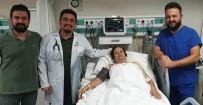 BAŞ DÖNMESİ - Şah Damarına Takılan Stent İle Hayata Tutundu