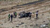 Şarampole Devrilen Otomobilin Sürücüsü Öldü