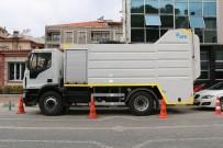 HÜSEYIN YARALı - Saruhanlı'da Çöp Konteynerleri Düzenli Olarak Yıkanacak