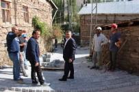 ORTAKARAÖREN - Seydişehir'de Parke Ve Asfalt Serimi Sürüyor