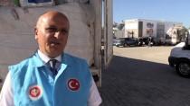 GÜMRÜK KAPISI - Suriye'ye İnsani Yardım