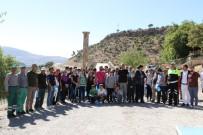 ENDÜSTRI MESLEK LISESI - Tarihi Cendere Köprüsünde Yürüyüş Yapıldı