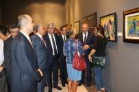MIMAR SINAN GÜZEL SANATLAR ÜNIVERSITESI - TCMB Sanat Koleksiyonu'nda Yer Alan Eserler Malatya'da Sergilendi