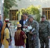 2'İnci Ordu Komutanı Orgeneral Temel'den, Kilis Valisi'ne Veda Ziyareti