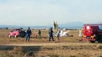 EĞİTİM UÇAĞI - Antalya'da Eğitim Uçağı Düştü Açıklaması 2 Ölü