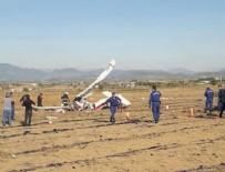 UÇAK KAZASI - Antalya'da uçak düştü: 2 ölü
