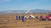 KEŞİF UÇAĞI - Antalya'da Keşif Uçağı Düştü Açıklaması 2 Ölü (1)