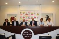 İŞBAŞI EĞİTİM PROGRAMI - Antalya'da Yeni Nesil Gazetecilik Eğitim Ve İstihdam Programı Başlıyor