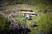 TIRMANMA DUVARI - Burunucu Macera Parkı'na Ziyaretçi Akını