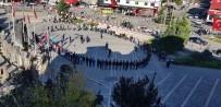 ÜLKÜ OCAKLARı - Develi Ülkü Ocakları Cumhuriyet Meydanı'nda Ülkücü Yemini Etti