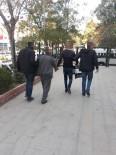 Edirne'de Yakalanan 3 Kişi Cezaevine Kondu