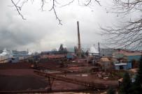 TAŞERON FİRMA - Fabrikada 8 Kişi Gazdan Etkilendi