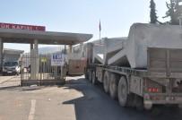İdlib'e Beton Blok Sevkiyatı