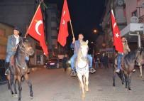 MUSTAFA BÜYÜKYAPICI - Karacasu'da Atlı Fener Alayı