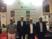 ŞEHMUS GÜNAYDıN - Kayseri Yeni Valisi YÖREX'te KTO Standını Ziyaret Etti