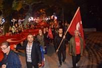 Kırklareli'nde Cumhuriyet Yürüyüşü