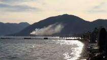 İÇMELER - Marmaris'te Otel Yangını