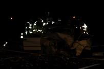 Nevşehir'de Trafik Kazası Açıklaması 1 Ölü, 4 Yaralı