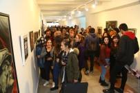 KARAHISAR - SDÜ'de Sanatçı Öğretim Elemanları Sergisi