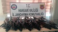 TEKELI - Şemdinli'de 30 Adet Av Tüfeği Ele Geçirildi