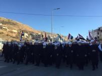 DİN ADAMI - Suriyeliler İsrail'deki seçimleri protesto etti