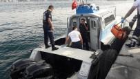 DENİZ POLİSİ - Taksici, Fatih Sultan Mehmet Köprüsü'nden Atladı