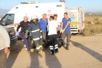 EĞİTİM UÇAĞI - Uçak Kazasında Ölen Pilot Ve Yardımcısının Cenazeleri Adli Tıp'a Gönderildi