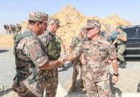 KRAL ABDULLAH - Ürdün Kralı 2. Abdullah Askeri Tatbikata Katıldı