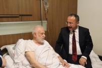 Vali Atik'ten Tarihçi Yazar Sırma'ya Geçmiş Olsun Ziyareti