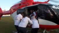 Ambulans Helikopter 1 Günlük Bebek İçin Havalandı