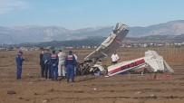 EĞİTİM UÇAĞI - Antalya'da Düşen Uçakta İlk İnceleme Tamamlandı