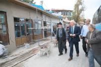 ULU CAMİİ - Başkan Restorasyon Çalışmalarını İnceledi