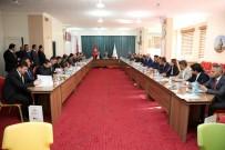 ALİ HAMZA PEHLİVAN - Bayburt'ta 'Sıfır Atık Projesi' Değerlendirme Toplantısı