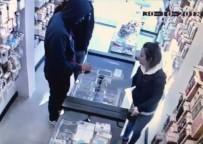 Saniyeler içinde gerçekleşen hırsızlık