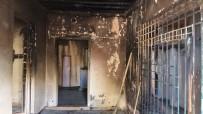 EMEKLİ MAAŞI - Ceylanpınar'da Ev Yangını