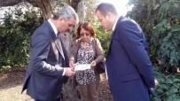 MURAT ŞAHIN - Daire Başkanı Şahin'den Aydın Tarım Müdürlüğüne Ziyaret