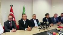 Denizlispor Başkanı Üstek, Görevini Çetin'e Devretti