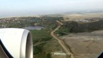ESENBOĞA HAVALIMANı - İstanbul Havalimanı Varışlı İlk Uçak Piste Teker Koydu