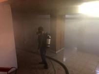 KAZIM KARABEKİR - Kağızman'da Okulda Çıkan Yangın Nedeniyle Öğrenciler Tahliye Edildi