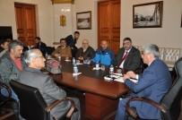 KARS VALISI - Kars Valisi Rahmi Doğan, Basın Mensuplarıyla Vedalaştı