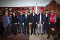 Kızılay Nevşehir Şube Başkanı Civelek, Başkan Seçen'i Ziyaret Etti