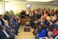 MHP Teşkilatlarından Vergili'ye Adaylık Ziyareti