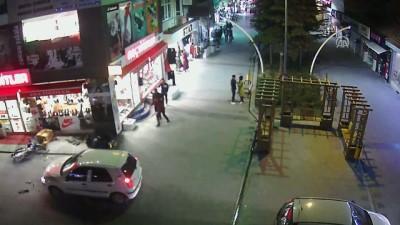 Niğde'de Trafik Kazaları MOBESE Kamerasında