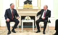 ORTODOKS - Rusya Devlet Başkanı Putin, Moldova Cumhurbaşkanı Dodon İle Bir Araya Geldi