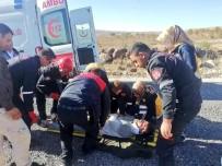 ÖRENCIK - Şanlıurfa'da Trafik Kazası Açıklaması 1 Yaralı