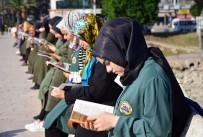 Taşköprü'de 'Seyyar Okurlar' Kitap Okudu