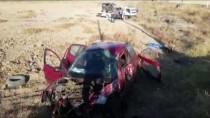 Aksaray'da Hafif Ticari Araçla Otomobil Çarpıştı Açıklaması 1 Ölü, 5 Yaralı